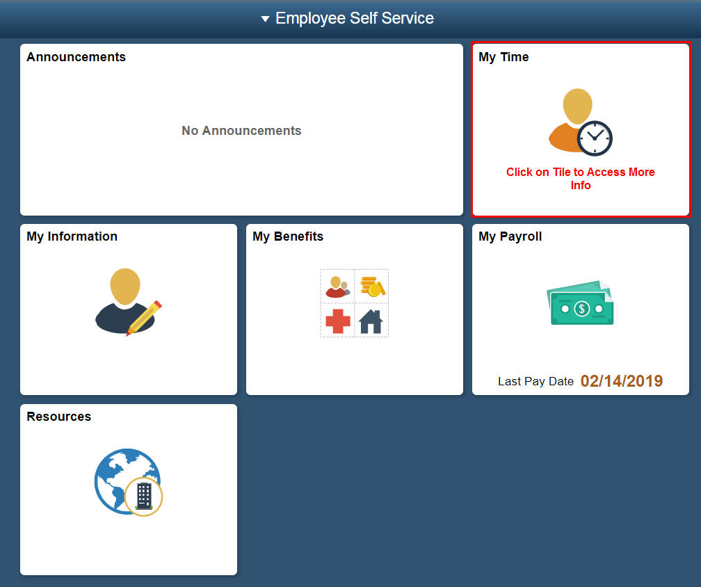 Division of Personnel Management ESS Payroll Reference Information